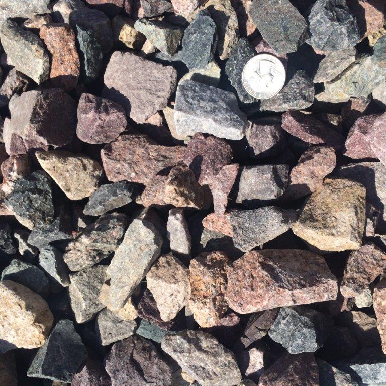 1.5inch Concrete Rock