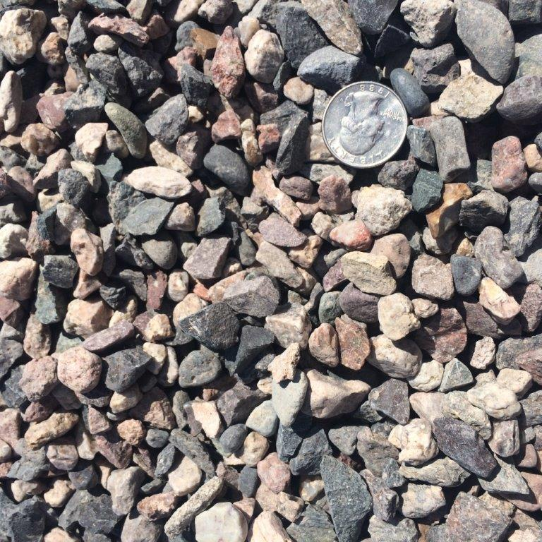 Half Inch Concrete Rock